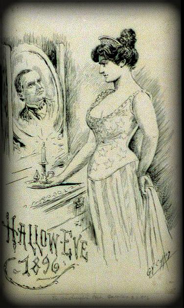 Victorian Era Halloween Game Card. Image: Library of Congress.