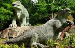 Crystal Palace Dinosaurs.