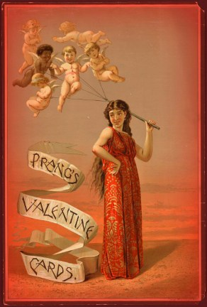 Prang's Valentine Cards. Image: Library of Congress.