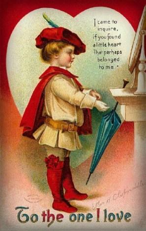 Victorian Era Valentine.