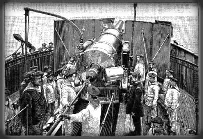Jules Verne North Pole Novel: The Gun.