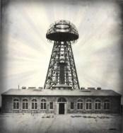 Nikola Tesla Papers, Broadcast Tower, 1904. Image: Wikipedia.