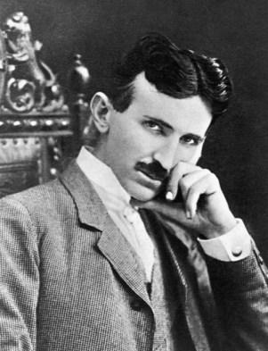 Nikola Tesla, circa 1896. Image: Wikipedia.
