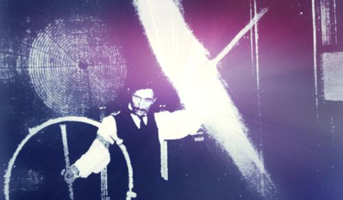 Victorian Selfies: Nikola Tesla In 1899 Electrical Review.