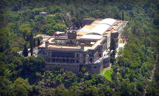 Chapultepec Castle. Image: jcmar.net.