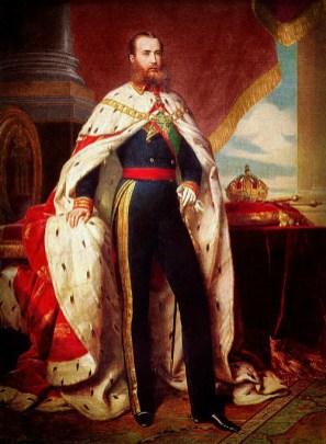 Emperor Maximilian, Chapultepec Castle 1864, by Winterhalter.