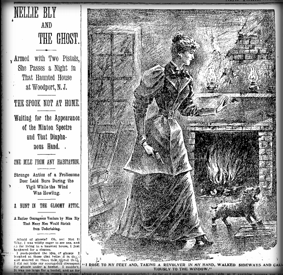 Nellie Bly Artic The Ghost. New York World, Feb. 4, 1894.