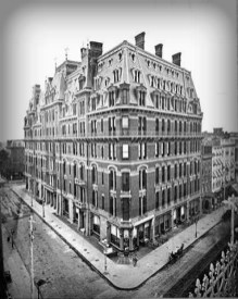 Harriet Quimby Lived In The Victoria Hotel. Image: Daytonian.com.