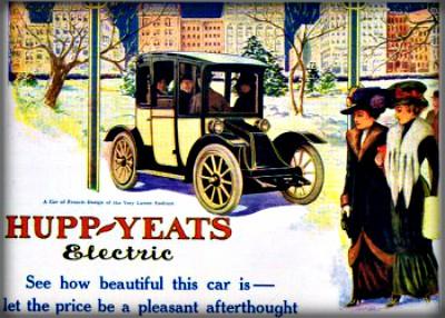 Victorian Era Electric Cars. Image: Wikipedia.