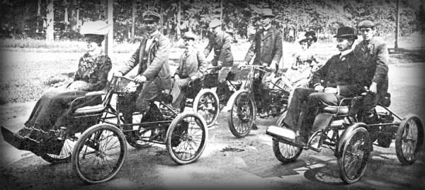 Orient Quadricycle, Waltham Manufacturing Company c. 1899-1900.