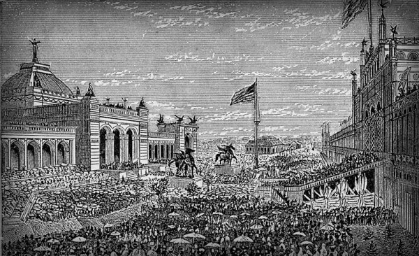 Centennial Exposition 1876, Opening Day. Image: Philadelphia Free Library.