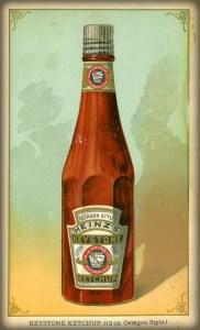Centennial Exposition 1876, Heinz Tomato Ketchup Bottle (1890). Image: Wikipedia.