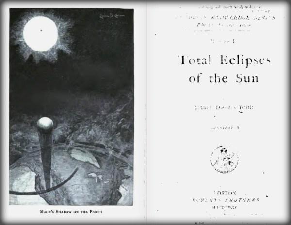 Victorian Era Solar Eclipses, Mabel Loomis Todd, 1894.