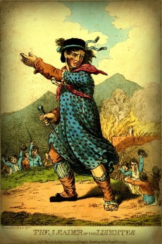 Leader of the Luddites, 1812. Image: Wikipedia.