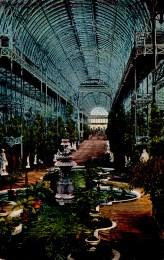 _crystal palace interior postcard