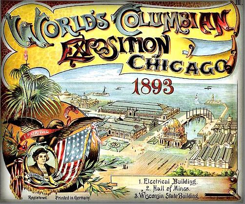 World's Columbian Exposition, 1893. Image: Wikipedia.