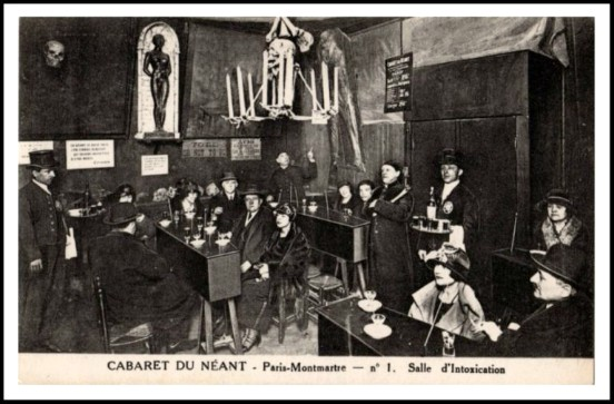 Cabaret OF Nothingness; Room Of Intoxication. Image: Public Domain.