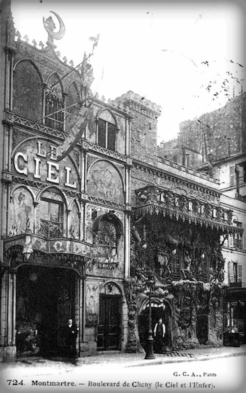 Cabaret Of Hell, Paris. Image: Public Domain.