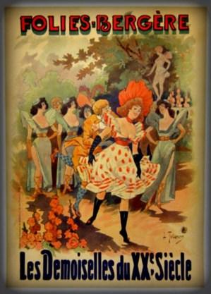 Folies-Bergère: 1899. Image: Wikipedia.