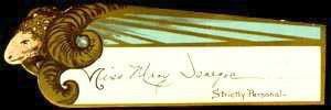 Nineteenth-Century Mardi Gras Invitation-Admit Card: Comus, 1900. Image: New Orleans Public Library.