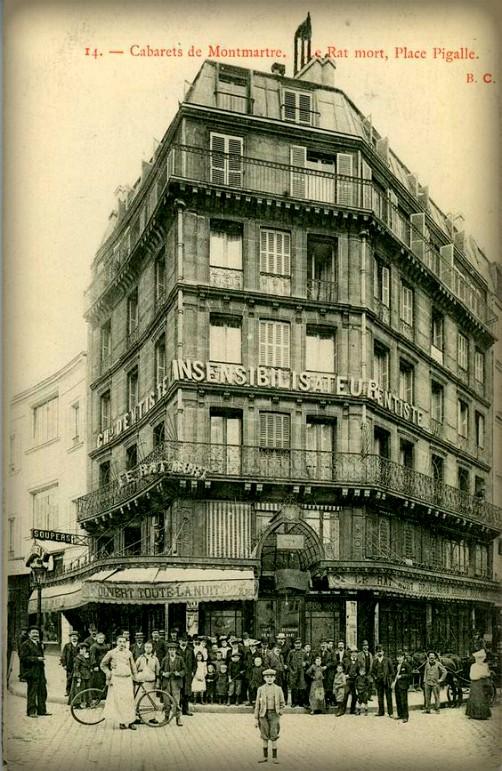 Cafe du Rat Mort. Image: CParma.com.
