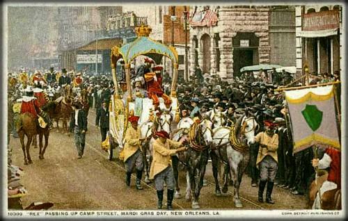 Victorian Era Mardi Gras, 1907. Image: Wikimedia.