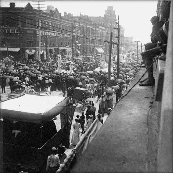 Mardi Gras, 1897. Image: Wikipedia.