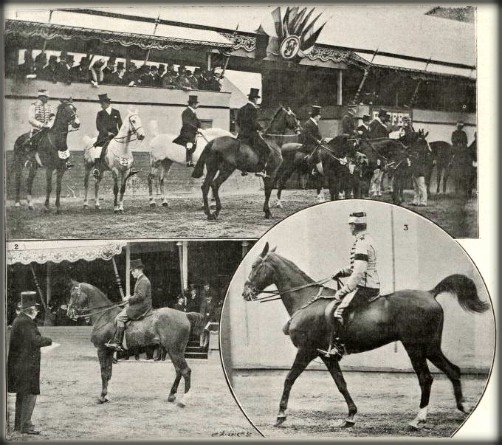 Equestrian Event, Summer Olympics 1900. Image: Wikipedia.
