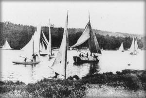 Regatta, Summer Olympics, 1900. Image: Wikipedia.