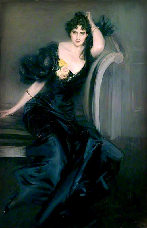 Giovanni Boldini, Lady Collin Campbell, 1897. Image: Wikipedia.