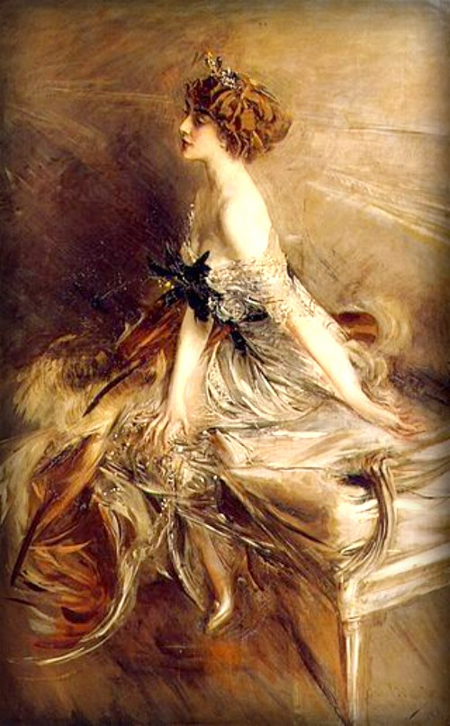 Giovanni Boldini, Portrait of Princess Marthe Bibesco, 1911. Image: Wikipedia.