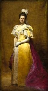 First Female Field Engineer, Emily Warren Roebling: by Charles-Émile-Auguste Carolus-Duran. Image: Brooklyn Museum.