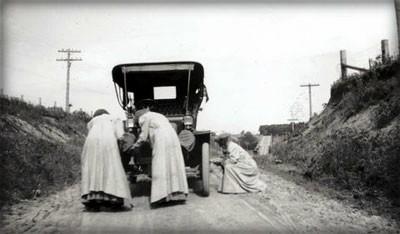 Alice Huyler Ramsey Race, 1909. Image: Wikimedia.