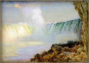 Niagara Falls by Arthur Parton. Image: Wikipedia.