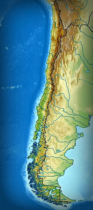 Mary Ann Brown Patten; Relief Map of Chile and Cape Horn. Image: Wikipedia.