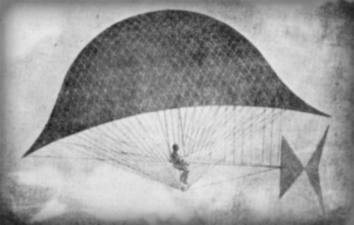 Carl Meyer's Sky Cycle, Jan. 1, 1901. Image: Popular Science Monthly #58, Wikipedia.