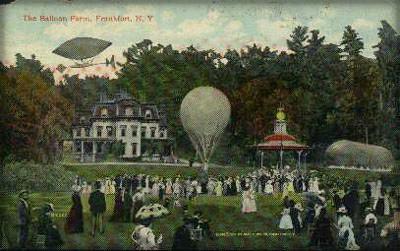 Meyers Balloon Farm, 1907. Image: Wikipedia.