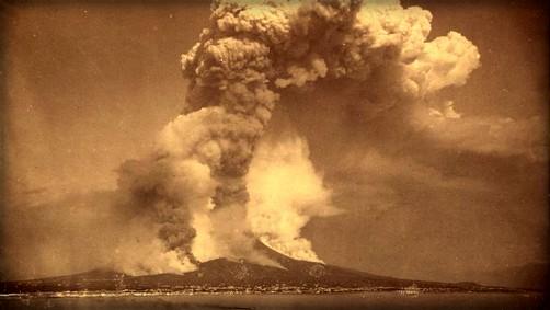 Victorian Era Krakatoa Eruption: Image: Library of Congress.