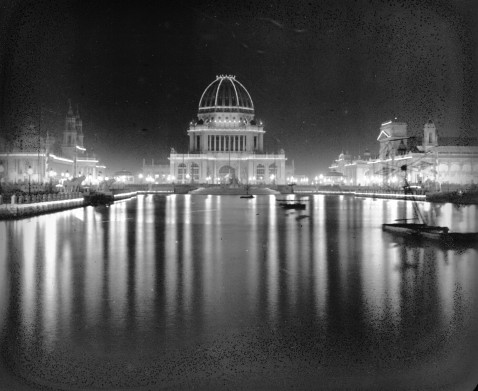 Columbian Exposition Electricity, 1893. Image: Library of Congress.
