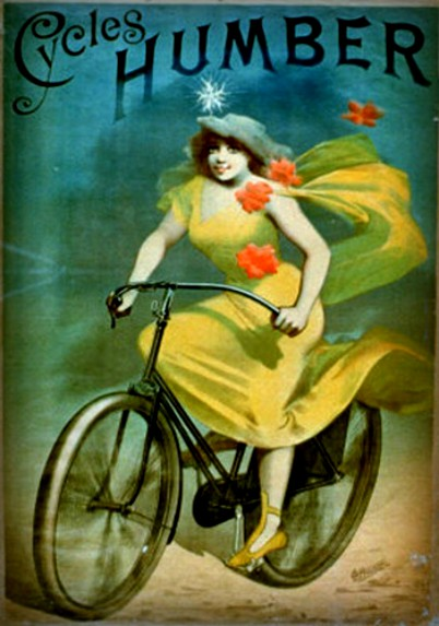Jules Chéret Style-Humber Cycles. Image: Wikipedia.