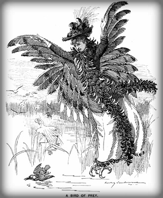 Bird of Prey Cartoon. Image: Punch Magazine Archives.