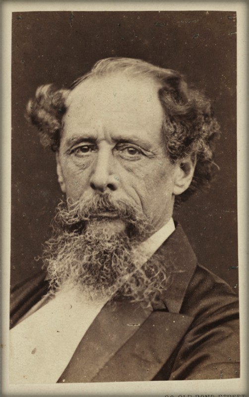 Charles Dickens, 1890. Image: scienceandmediamuseum.org.uk.