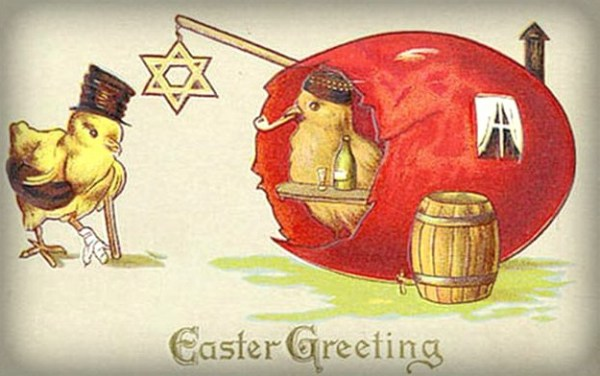 Victorian Easter Card. Image: Wikipedia.