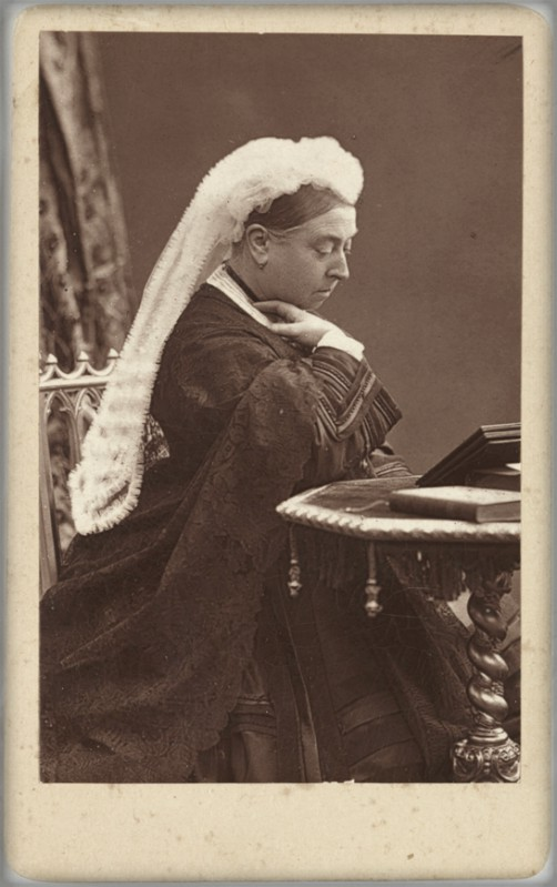 Queen Victoria, 1887. Image: scienceandmediamuseum.org.uk.