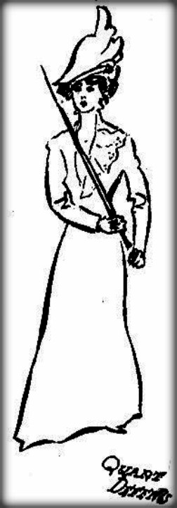 Victorian Cane Defense by the Marquis of Queensberry: Chicago Tribune, Fall 1011. Image: MartialArtsNewYork.org.