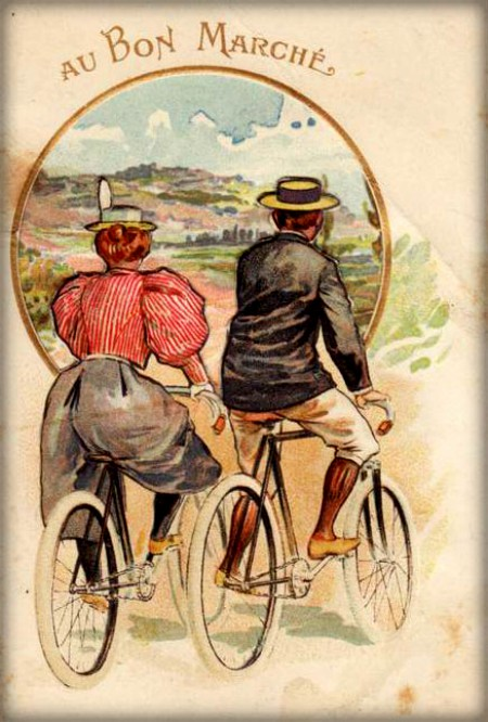 New Woman Bicycle Clothing. Image: oldBike.eu.