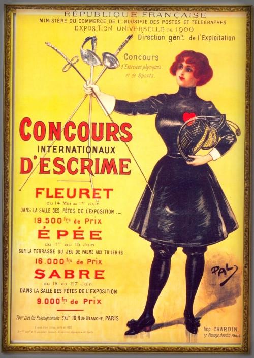 Olympic Games Paris, 1900. Image: Wikipedia.