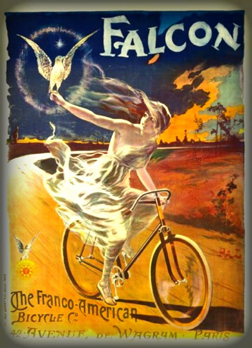 Bicycle Poster; Falcon. Image: Wikipedia.