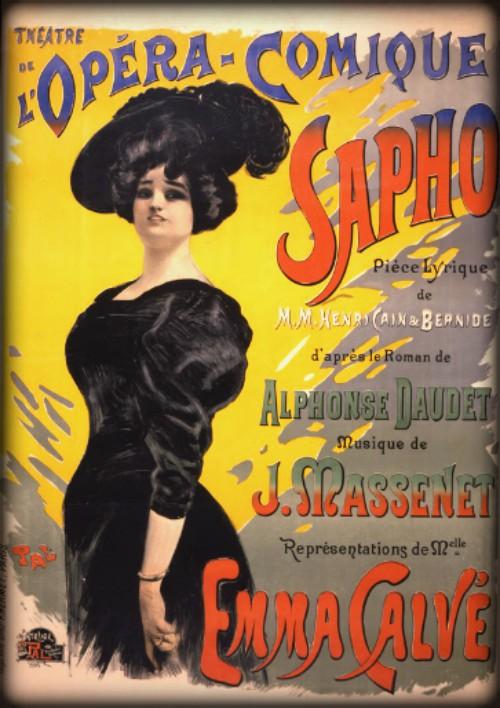 Jules Massenet, Sapho. Image: Wikipedia.