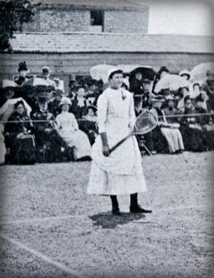 Lottie Dod. Image: Wikipedia.